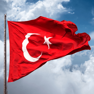 A Picture of the Flag of Turkey