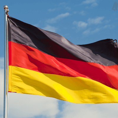 A Picture of the German Flag