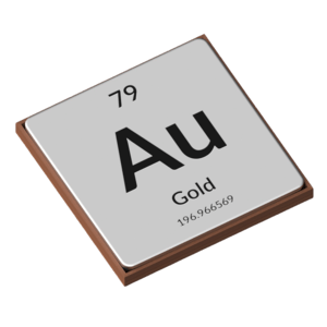 Gold Periodic Table