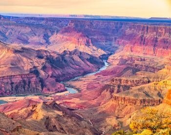A picture of the Grand Canyon in Arizona, USA.