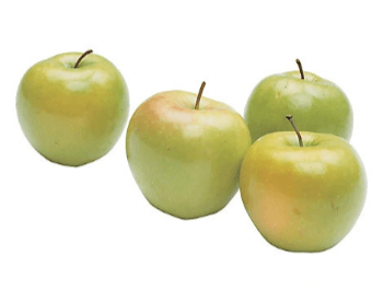 A picture of granny smith apples