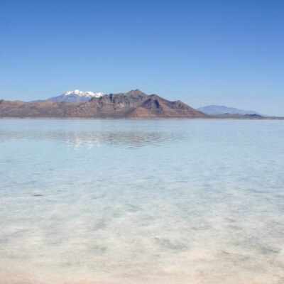 A Picture of the Great Salt Lake