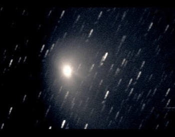 A picture of the Hale-Bopp Comet in 1997