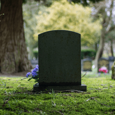 A Picture of a Headstone