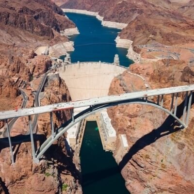 A Picture of the Hoover Dam