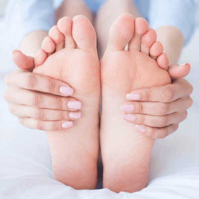 A Picture of Human Feet