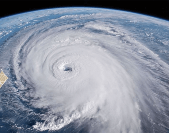 A picture of hurricane Florence from space