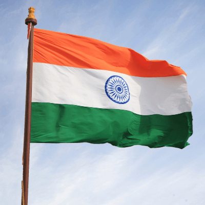 A Picture of the Indian Flag