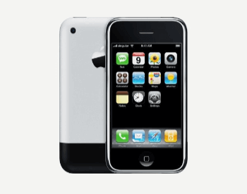 The first smartphone: Apple iPhone (iPhone 2g)