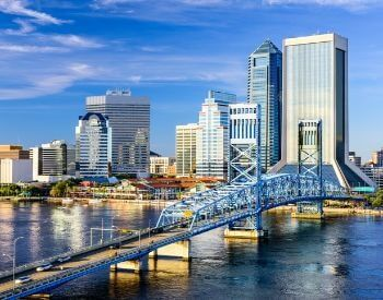 A picture of the city of Jacksonville, Florida