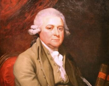 A picture of a 1785 painting of John Adams