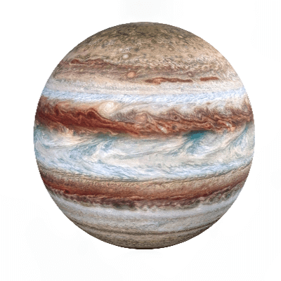 A Picture of the Planet Jupiter