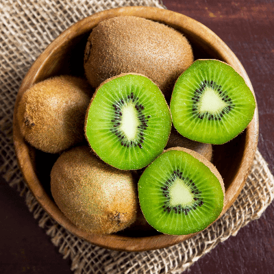 A Picture of a Bowl of Kiwi