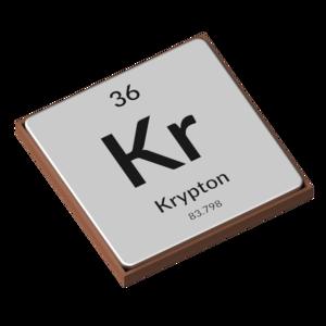 The Periodic Table - Krypton
