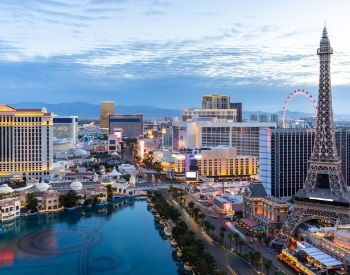 A picture of Las Vegas, the largest city in Nevada