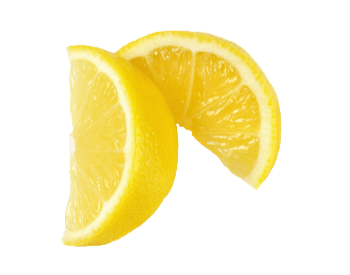 A picture of a lemon cut into wedges