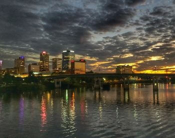 A picture of Little Rock, the capital city of Arkansas