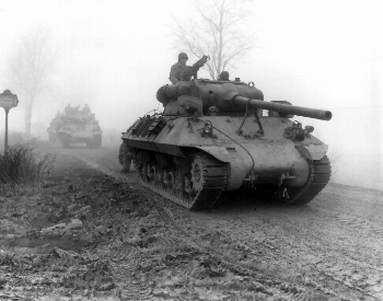 A picture of a M36 Jackson tank near Werbomont, Belgium in 1944