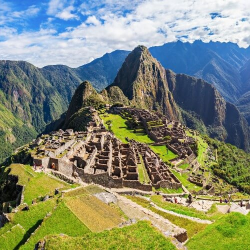 A Picture of Machu Picchu