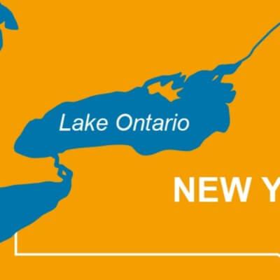 A Map of Lake Ontario