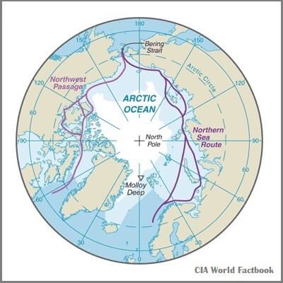 A Map of the Arctic Ocean
