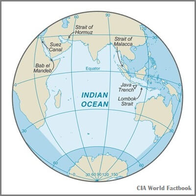 A Map of the Indian Ocean