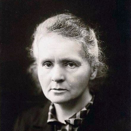 A Picture of Marie Curie