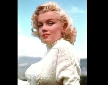 A picture of Marilyn Monroe as an adult