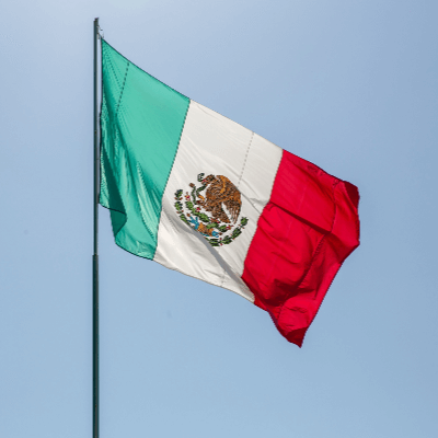 A Picture of the Mexican Flag
