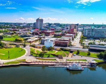 A picture of Montgomery, the capital city of Alabama