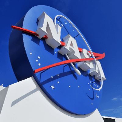 A Picture of the NASA Logo