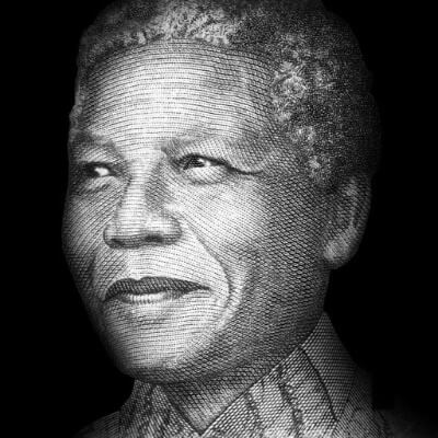 A Picture of Nelson Mandela