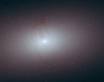 A photo of the elliptical galaxy NGC 2678