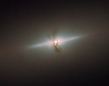 A photo of trhe lenticular galaxy NGC 4111