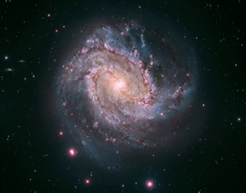 A photo of spiral galaxy NGC 5236