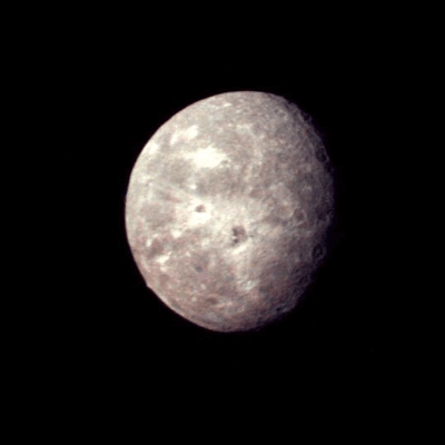 A Picture of the moon Oberon