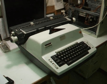 A picture of a Olympia Model 50/51 electric typewriter
