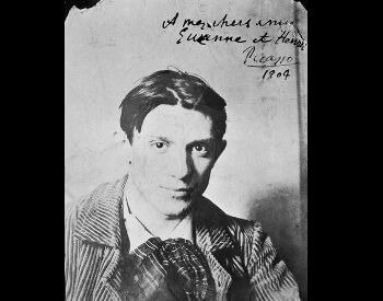 A picture of a young Pablo Picasso