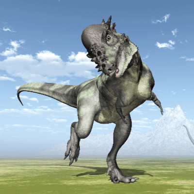 A Picture of Pachycephalosaurus Wyomingensis