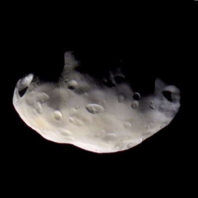 A Picture of Saturn's Moon Pandora