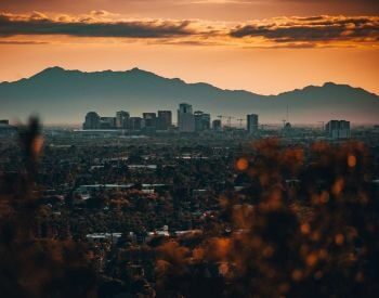 A picture of Phoenix, the capital city of Arizona