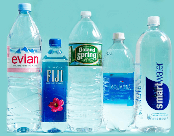 A picture of a few plastic bottles used for water storage