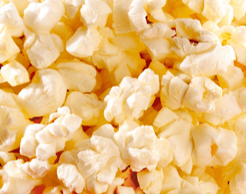 A picture of popcorn