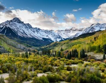 A picture of the Rocky Mountains in Colorado