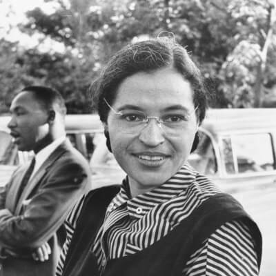 A Picture of Rosa Parks