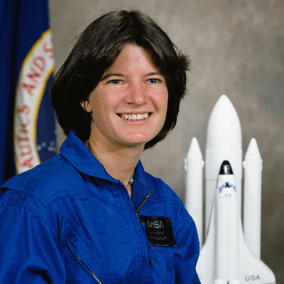 A picture of Sally Ride