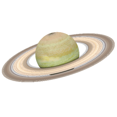 A Picture of the Planet Saturn