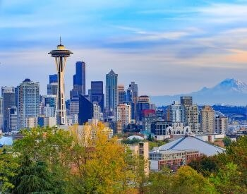 A picture of Washington, the most populated city in Washington