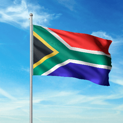 A Picture of the South Africa Flag