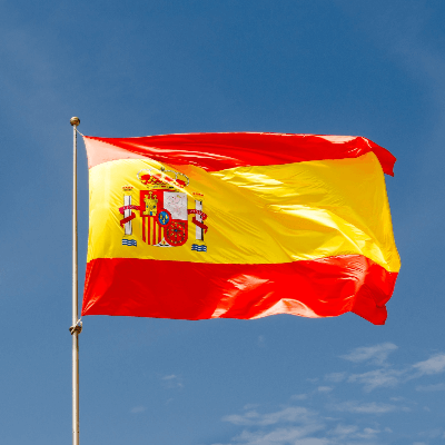 A Picture of the Spain Flag